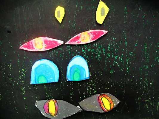 Artary Children Art Painting Safari Eyes Week 32 Year 2012