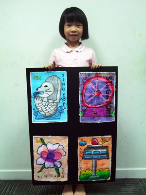 Artary Children Art Painting Orchid Series Painting I Week 34 Year 2012