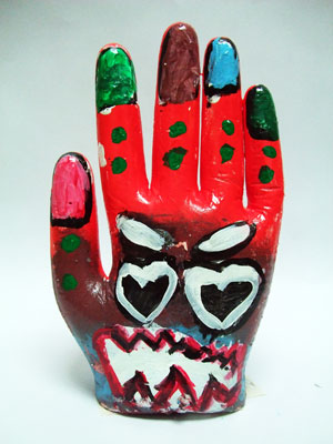 Artary Children Art Painting Plaster Hand II Week 42 Year 2012