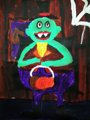 Artary Children Art Painting Laurie Hardin II Week 43 Year 2012
