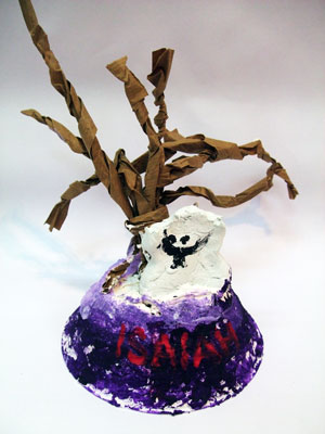 Artary Children Art Painting Scary Halloween Trees Week 43 Year 2012